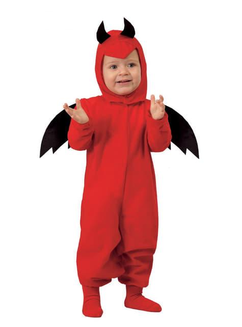 Fato de diabinho infernal para bebé