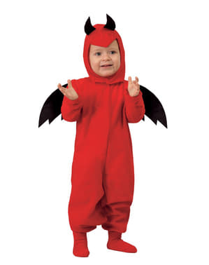 Ördög jelmez csecsemőknek