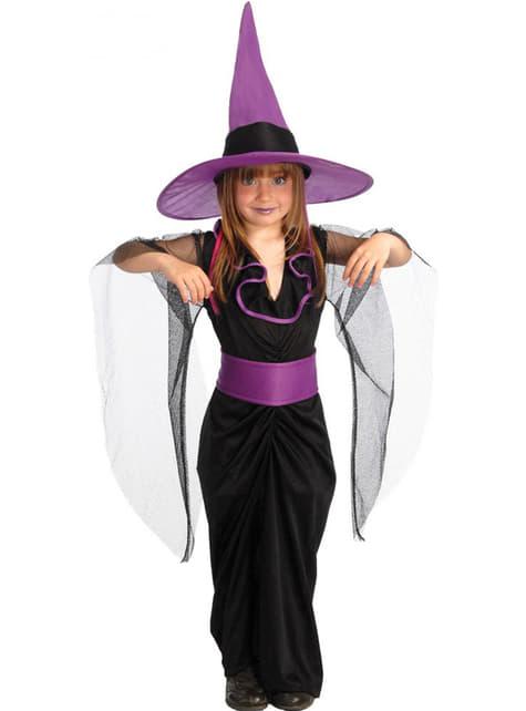 Fato de bruxa Esdrúxula para menina