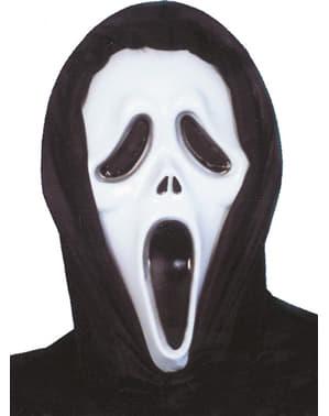 Maschera Scream plastica