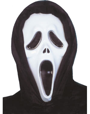 Scream maske plastik