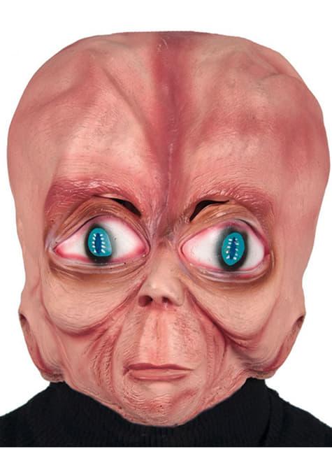 Máscara de alien cabezón