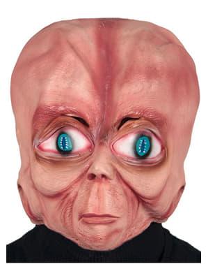 Maska mimozemšťan s velkou hlavou
