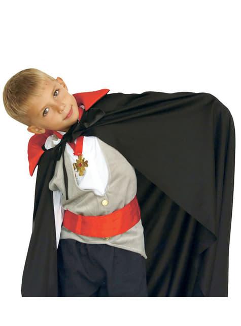 Capa de vampiro infantil 90 cm