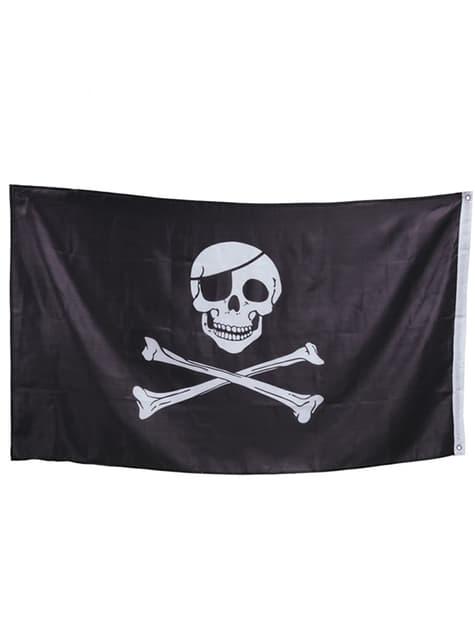 Bandera pirata 90x150 cm