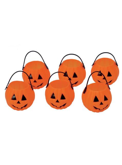 Trick or Treat Pumpkin Bucket (7 cm)