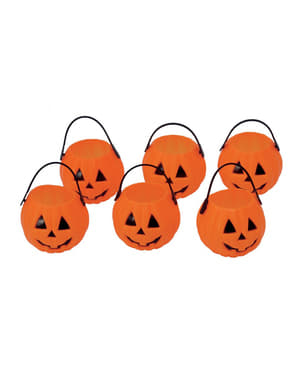 Trick or Treat Pumpkin Bucket (7 cm)