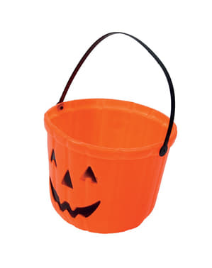 Trick or Treat Pumpkin Bucket (20 cm)