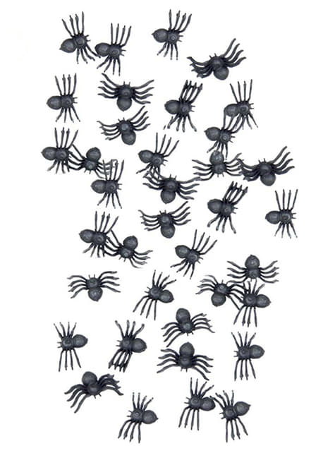 Bag of Little Halloween Spiders
