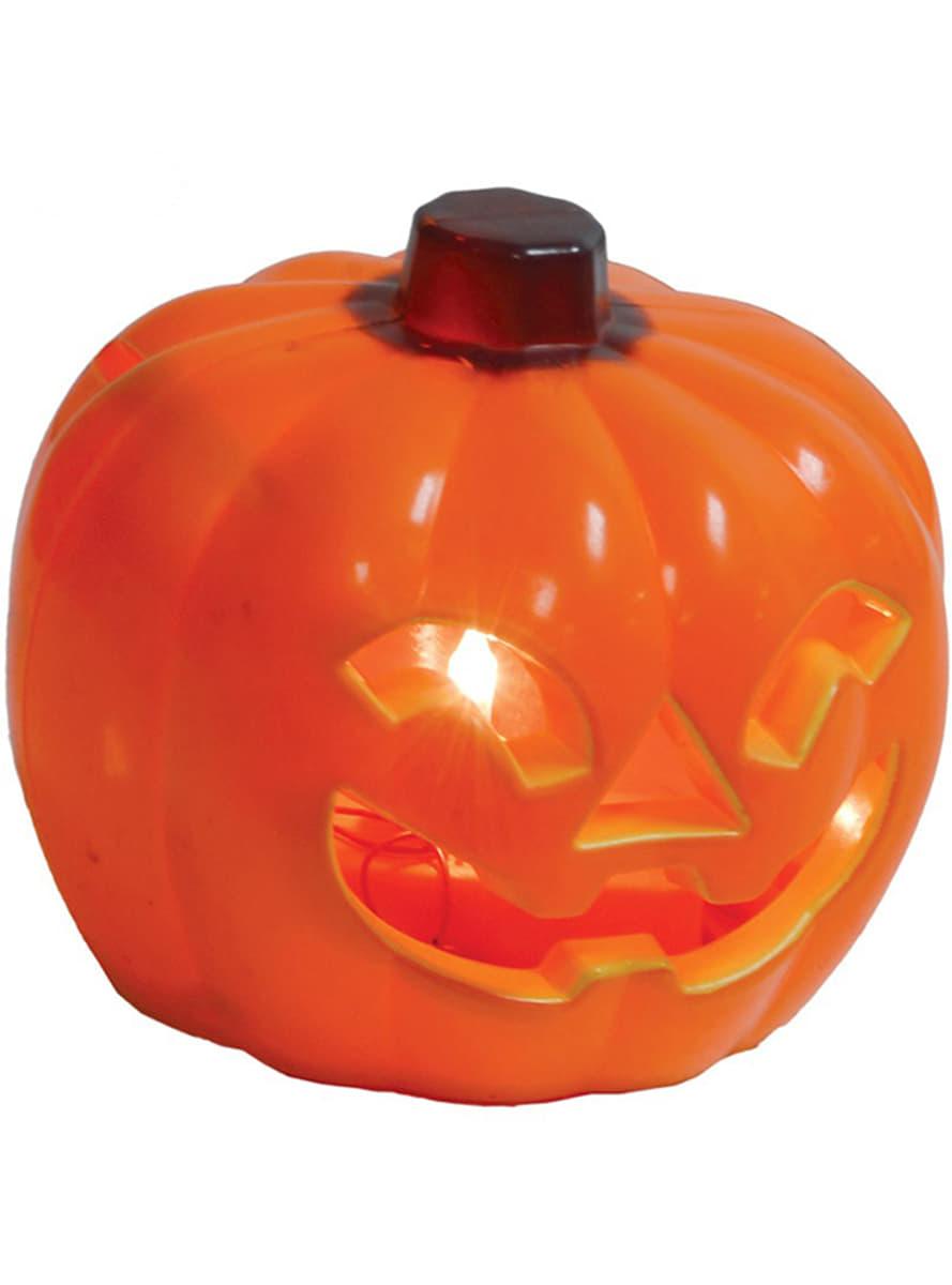 Mini zucca sorridente luminosa per halloween funidelia for Zucca halloween luminosa