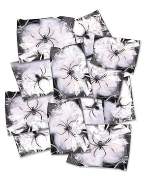 12 paquetes de telarañas de 12 gr
