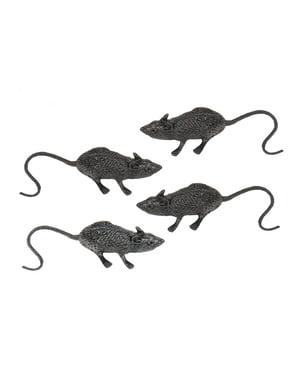 Pussillinen kuvottavia rottia