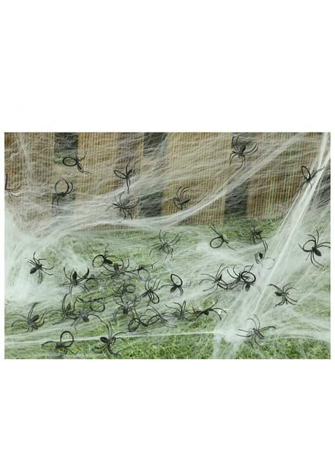 Balíček dekorativních pavouků 50 kusů