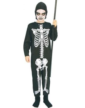 Skelett Kostüm für Jungen
