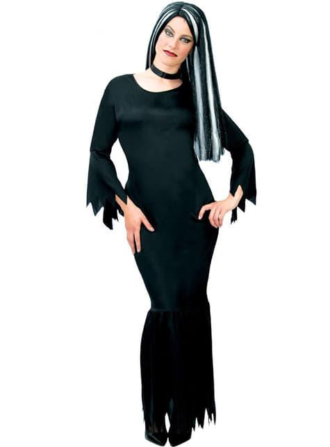 Morticia Addams kostume