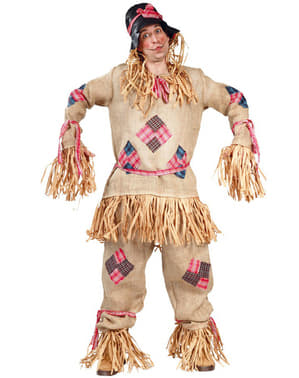 Mens Straw Scarecrow Costume