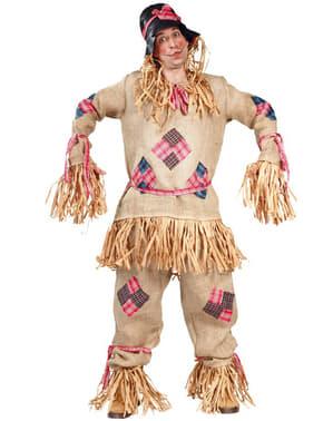Мъжки костюм от плашило от слама