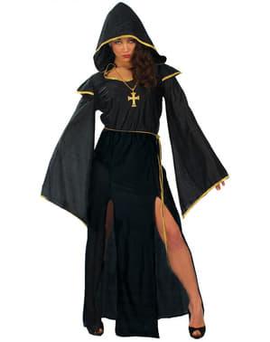 Dunkle Priesterin Kostüm für Frau