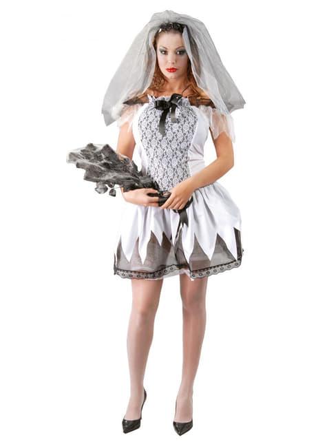 Womens Sexy Dead Bride Costume