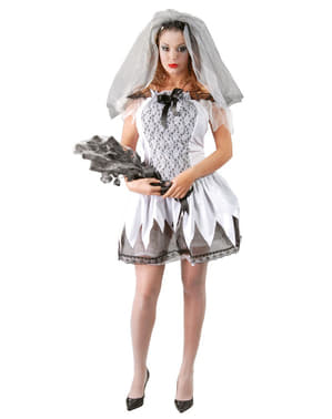 Womens Sexy Dead Bride Costume