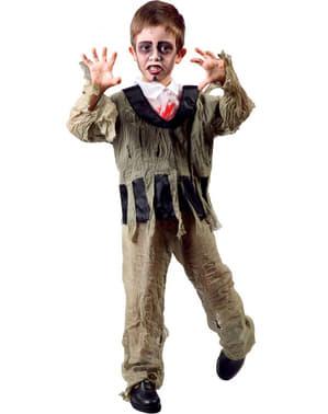 Disfraz de pequeño zombie siniestro