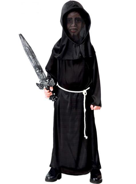 Costum de monstrul din întuneric pentru copii
