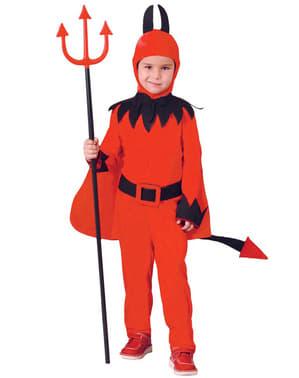 Lilla helvetets djävuldräkt barn
