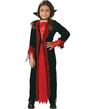 Fato de vampira pequena para menina