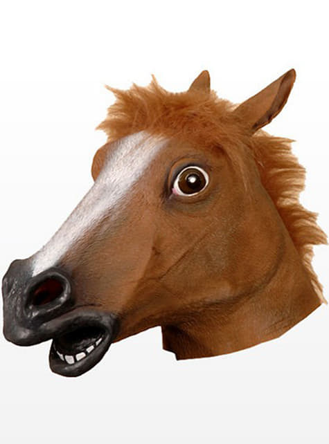 Maska konia szalony