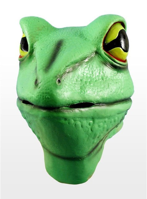 Žabá latexová maska