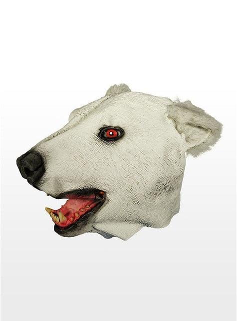 Latexová maska lední medvěd