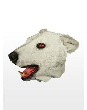 Maschera di lattice da orso polare