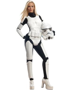 Kvinnlig Stormtrooper Maskeraddräkt