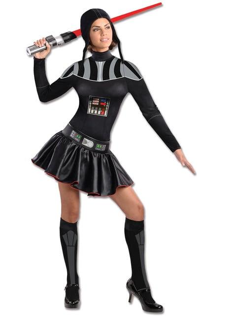 Kostim za odrasle Lady Darth Vader