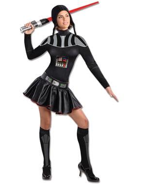 Darth Vaderdräkt till kvinnor