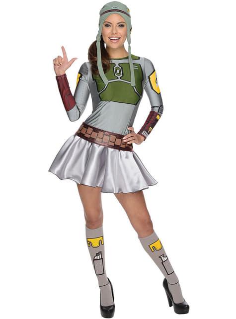 Dámský kostým Boba Fett