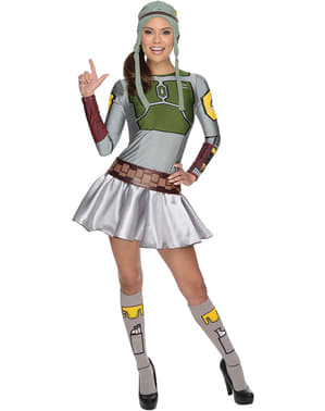 Lady Boba Fett Adult Costume