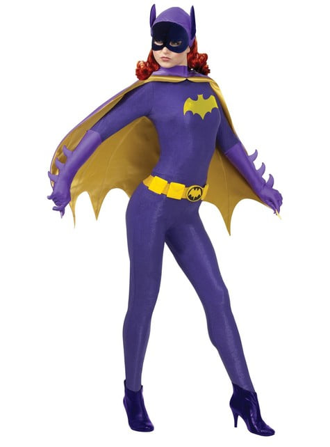 Grand Heritage 1966 Klassisk Batgirl Kostyme Voksen