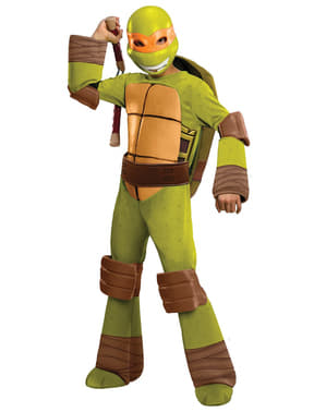 Fato de Michelangelo Tartarugas Ninja infantil