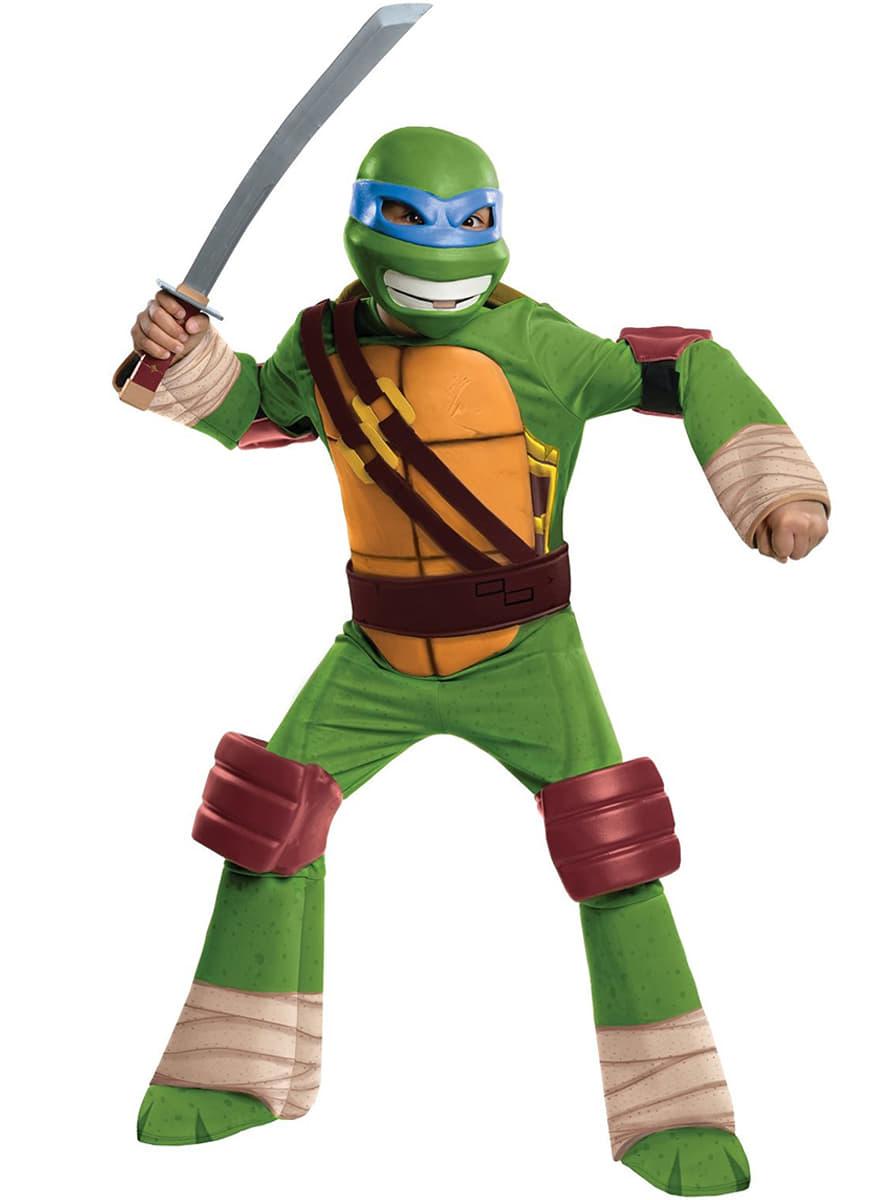 D guisement de leonardo tortue ninja pour enfant funidelia - Voiture des tortues ninja ...