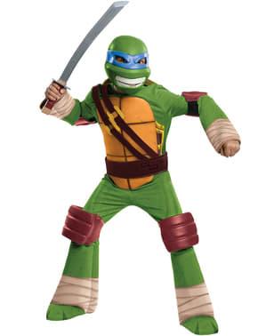 Costum Leo Țestoasele Ninja pentru copii