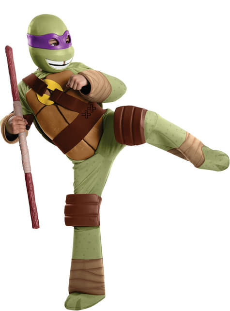Donatello Ninja Turtles Kostuum voor kids