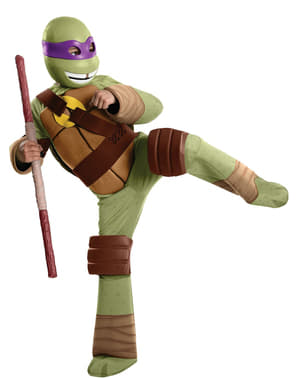 Costum Donnie Țestoasele Ninja pentru copii