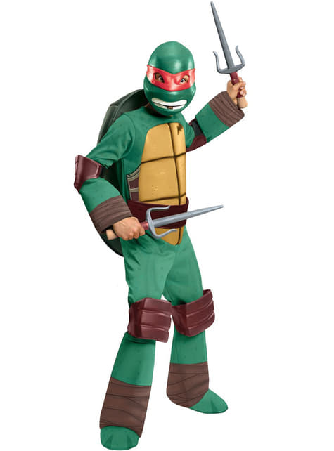 Raphael Kostüm Ninja Turtles für Kinder
