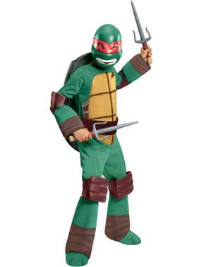 Fato de Raphael Tartarugas Ninja infantil