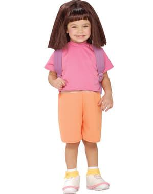 Disfraz de Dora la Exploradora para niña