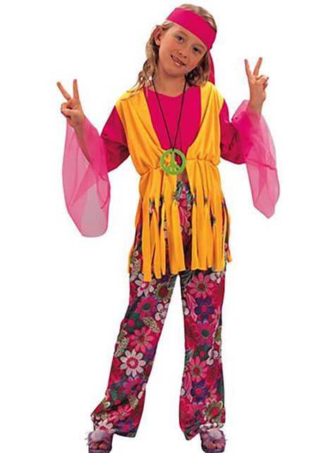 Costume da bambina hippy