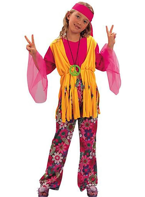 Little Hippy Girl Costume