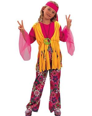 Liten Hippie Jentekostyme