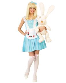 Alice in het bos kostuum